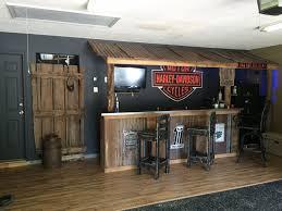 outstanding harley davidson living room image ideas garage bar