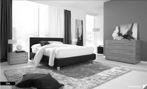 White Bedroom Furnishings Natural Wooden Mixed Black Polished Iron Bed Frame Using Striped F