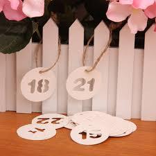 bonbonni re mariage new 24 pcs nombre papier tag de mariage bonbonnière prix