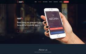 themes for mobile apps 20 wordpress themes based on bootstrap framework