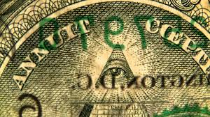 eye of not the eye of horus on dollar bill