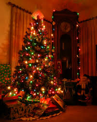 colored lights on christmas tree decorating ideas bathroomstall org