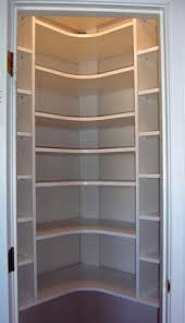 Woodworking Plans Pantry Cabinet How To Build A Corner Pantry For When I U0027m No Longer Renting