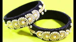 fashion designs black bangles for stylish girls diy how to make