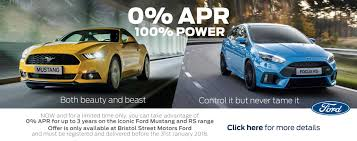 new ford deals new ford cars for sale bristol street motors