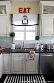 kitchen lighting light above sink rectangular black traditional