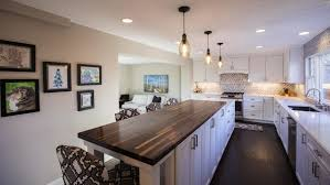 removing kitchen wall cabinets lose a wall in your home gain a kitchen house and