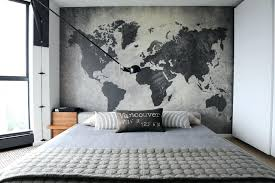 World Map Wall Decor Tapestry Watercolor Hanging Art
