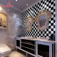 10m kitchen bathroom pvc tiles mosaic self adhesive wallpaper for