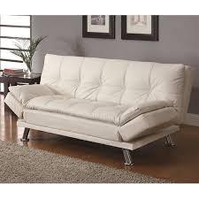 white sofa bed leather tehranmix decoration