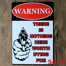 compare prices on gun metal signs online shopping buy low price