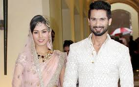 his and wedding hitched shahid posts photo of his wedding to mira indiatoday