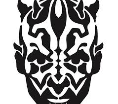darth maul template kids coloring europe travel guides com