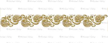 printable art deco borders crushed gold glitter look art deco border digital printable craft