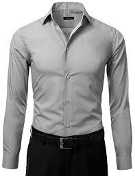 idarbi s slim fit color longsleeve dress shirt fashion now