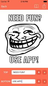 App To Make Your Own Meme - meme generator make your own memes mem creator on the app store