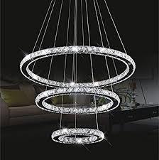 Ring Chandelier Chandelier Light Topmax K9 Cut Crystals Led Ring
