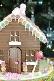 chocolate gingerbread houses a twist on a christmas tradition