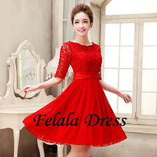 red short wedding dresses wedding short dresses