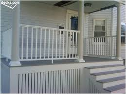 Back Porch Stairs Design with Best 25 Deck Skirting Ideas On Pinterest Front Porch Deck Deck