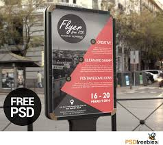business advertisement poster or flyer template psd psdfreebies com