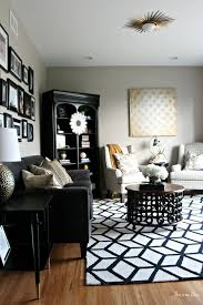 Black White Rugs Modern Rugs Curtains Modern Black And White Geometric Area Rugs For