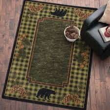 Rustic Hearth Rugs Rustic Wildlife Rugs Including Moose And Bear Rugs Black Forest