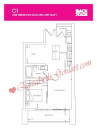 1 the esplanade backstage condos toronto floor plans