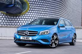 blue mercedes mercedes a class used car review eurekar
