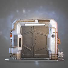 Futuristic Doors by Hassan Zayed Sci Fi Door