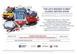 car club marketing nec classic motorshow