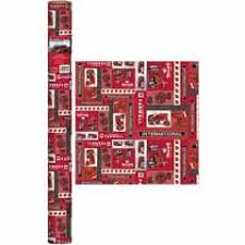 deere wrapping paper international harvester logo with farmall tractor gift wrap