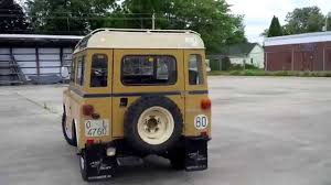 1975 land rover land rover santana 88 especial diesel youtube