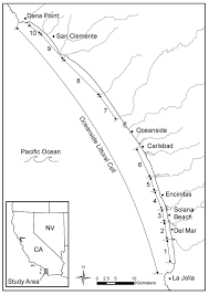 Ucsd Maps Oceanside Littoral Cell Jpg