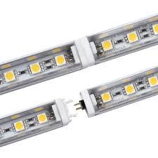 range hood light bulb cover 6pcs rigid led strip 5050 fast connecting led bar light dc12v 50cm