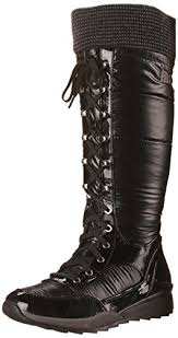 womens winter boots amazon canada tasty s winter boot black shimmer 9 m us c https