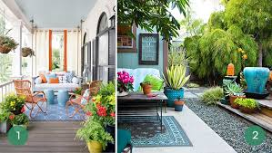 outdoor space 10 ways to infuse color into your outdoor space curbly