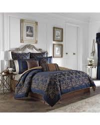 California King Comforter Sets On Sale Deal Alert Croscill Monroe Blue 4 Piece Comforter Set California