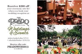 wedding deals san diego wedding vendor promotions san diego weddings of