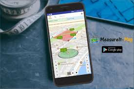 Radius On Map Measure It Map Field Or Land Area Measure On Map Android Apps On