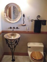 bathroom vintage vessel sink with wonderful bas relief design