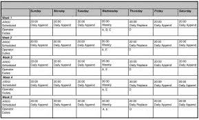 8 weekly work schedule template memo templates downl saneme