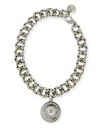 crystal chain link necklace images Versace oversized crystal link medallion necklace jpg