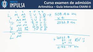 guia de la universidad veracruzana 2017 examen diagnostico exani ii aritmética problema 18 guía