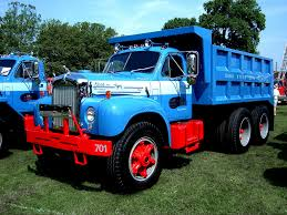 mack dump truck 1965 mack b model dump truck macungie antique truck show j u2026 flickr