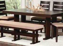 travis dining table in cappuccino by coaster w options