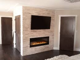 fireplace building a surround fau brick walls gas throughout