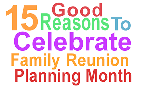 family reunion planning guides apps and books november 2015