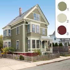 exterior house colors sage green interior design