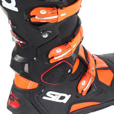 motocross boots sidi sidi 2017 new mx crossfire 2 srs black ktm flo orange motocross